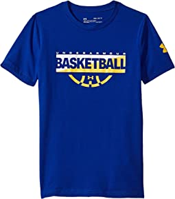 Under Armour Kids - Baseline Graphic Short Sleeve Tee (Big Kids)