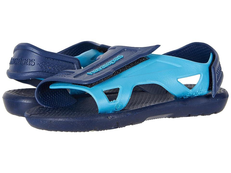 Havaianas Kids Move Sandals (Toddler/Little Kid/Big Kid) (Navy Blue) Boys Shoes