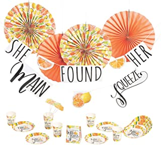 Found Her Main Squeeze Table Decor - 27 Piece Bachelorette Party Kit