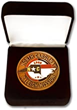 Bennett Brands LDS North Carolina Raleigh Mission Commemorative Mission Coin
