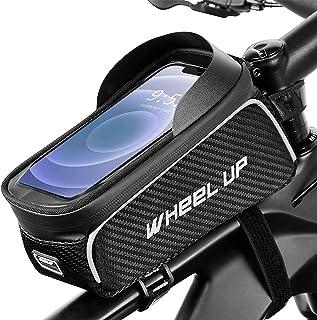 Bike Frame Phone Bag - Top Tube Bike Bag Bicycle handlebar Bag Waterproof Cycling Accessories Bag...