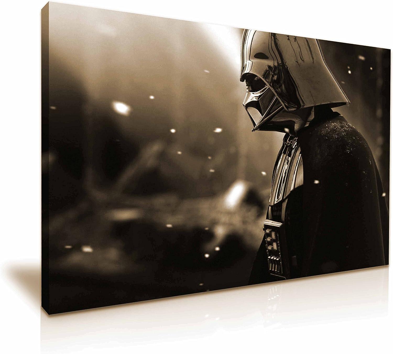 Star Wars Darth Vader Leinwand Kunstdruck Kunstdruck Kunstdruck Bild 76 x 50 cm B06XG8FY8X 0f8694