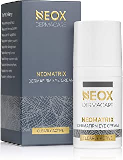 NeoMatrix Dermafirm Eye Cream by NEOX DERMACARE: Active Firming, Tightening, Lifting Eye Care to Improve Contour Bounce, Elasticity around the Eye Zone