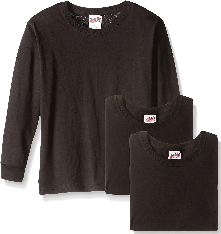 Soffe Deluxe Big Boys' Long Sleeve T-Shirt Cotton Cheap SALE Start