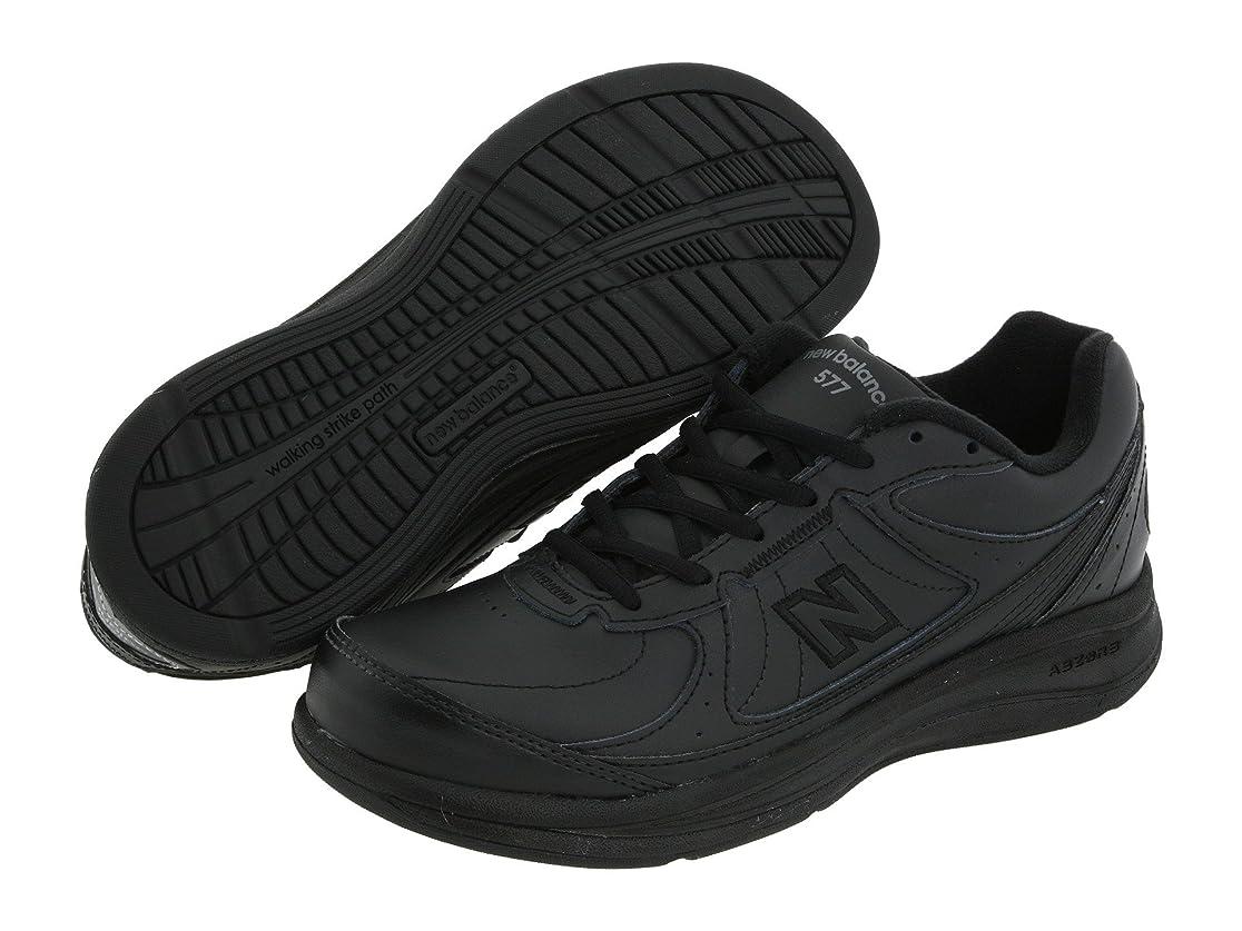 悪魔ステップ後ろに[new balance(ニューバランス)] レディースウォーキングシューズ?靴 WW577 Black 6.5 (23.5cm) 2A - Narrow [並行輸入品]