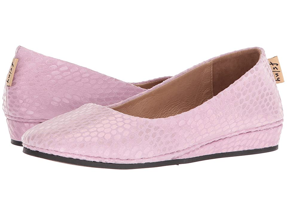 French Sole Zeppa Flat (Pink Julep Print) Women