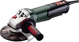 Metabo WEP17-150 Quick 14.5 Amp 9600 rpm Angle Grinder with Electronics and Non-Locking Paddle Switch, 6
