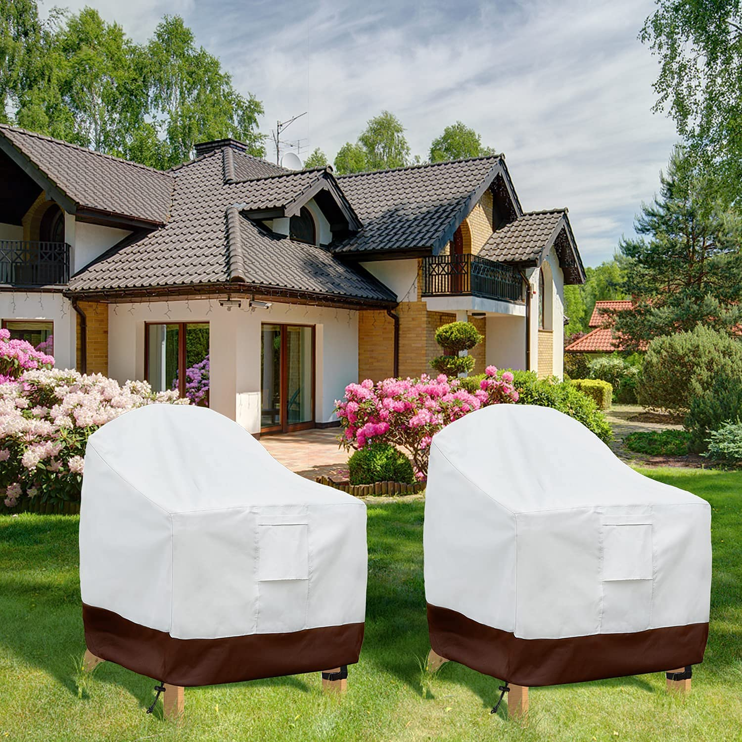HOTBEST Patio Chair Cover Adirondack Outdoor Water New product San Antonio Mall Covers