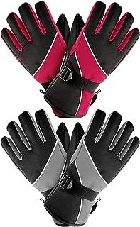 snow camo gloves