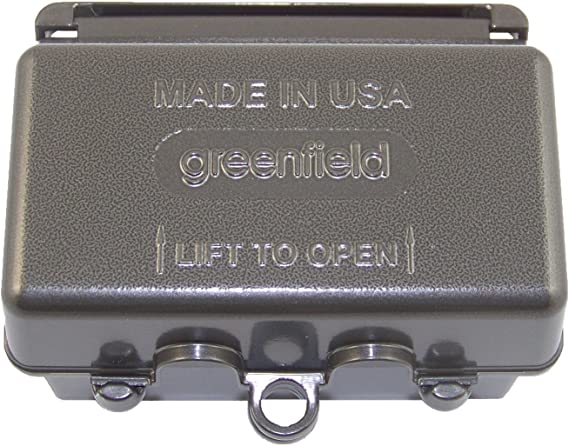 Greenfield CDRHBRS Series Weatherproof Electrical Outlet Box Cover Bronze