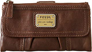 Fossil Women's Emory Soft Leather Clutch Wallet