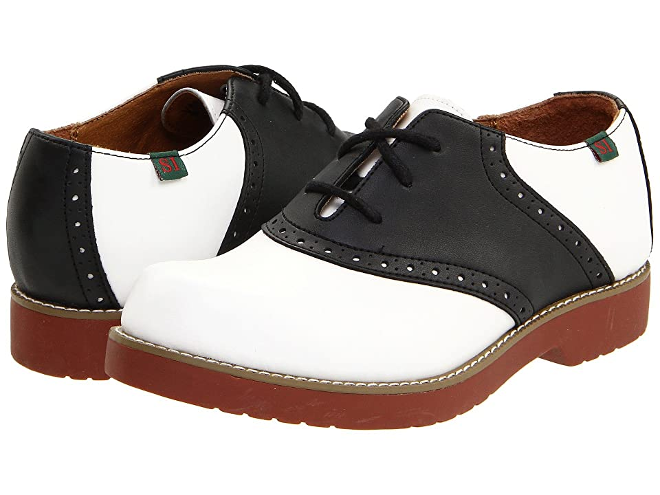 School Issue Varsity (Toddler/Little Kid/Big Kid) (White/Black) Girls Shoes