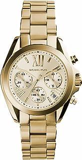 Michael Kors Mini Bradshaw Gold-Tone Stainless Steel Watch MK5798
