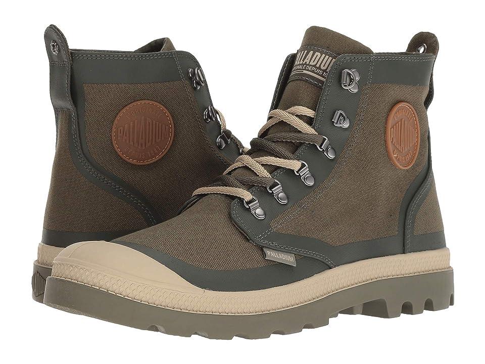 Palladium Pallafox TX (Olive Night/Safari) Lace-up Boots
