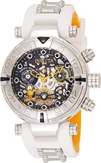 Invicta Womens Quartz Watch, Chronograph Display and Silicone Strap 24881