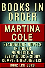 martina cole novels list