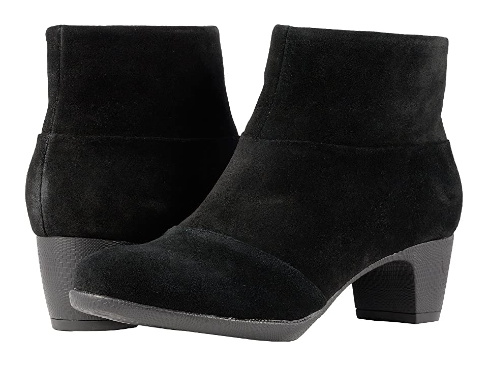 SoftWalk Inspire (Black Suede) Women