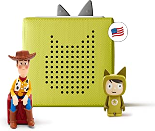 Toniebox Starter Set Green + Disney Toy Story - Educational Musical Toy for Boys and Girls - Imagination-Building, Screen-...