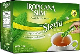Tropicana Slim Sweetener Stevia Diet Sticks - 75 gm