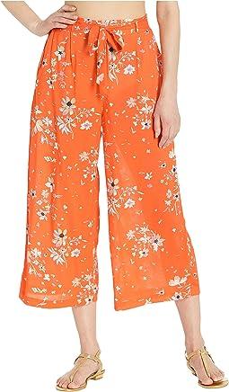 Mandarin Orange Floral