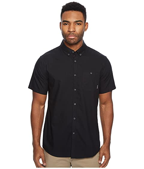Billabong All manga Oxford negra Day de camiseta corta rzdqrB4w