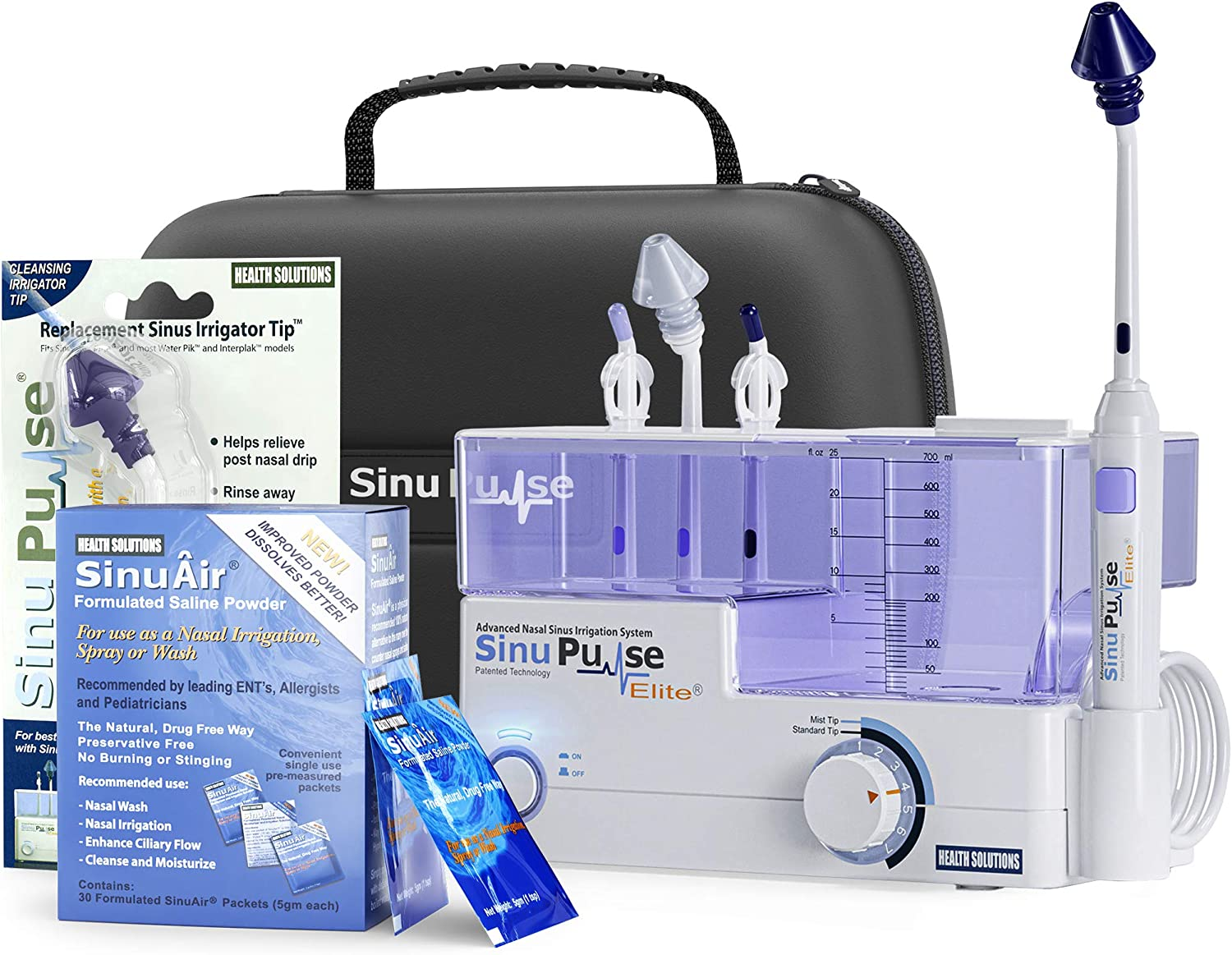 SinuPulse Elite Max 86% OFF Advanced Nasal Sinus Irrigation 30 Max 40% OFF with System A
