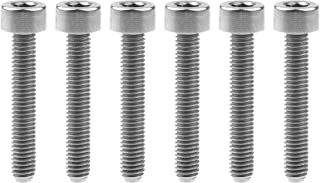 Color : Gold, Length : 8mm Ping.Feng 1Pcs Titanium Ti Bolts M3 x8 10 15mm Inner Hexagon Half Round Head Bolt Screws for Bike Bicycle Part Fasteners Screws
