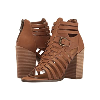 Report Beckett (Tan Synthetic) High Heels