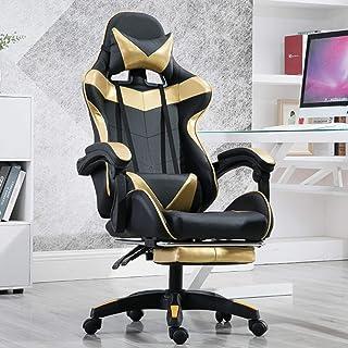 AAGYJ Sillas para Juegos de computadora, Silla de Escritorio de Oficina en casa Grande y Alta, Silla de Asiento de 400 Libras de Ancho, sillas ejecutivas ergonómicas con Respaldo Alto