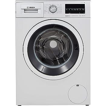 Bosch 8 kg Inverter Fully-Automatic Front Loading Washing Machine (WAT24464IN, Silver, Inbuilt Heater)