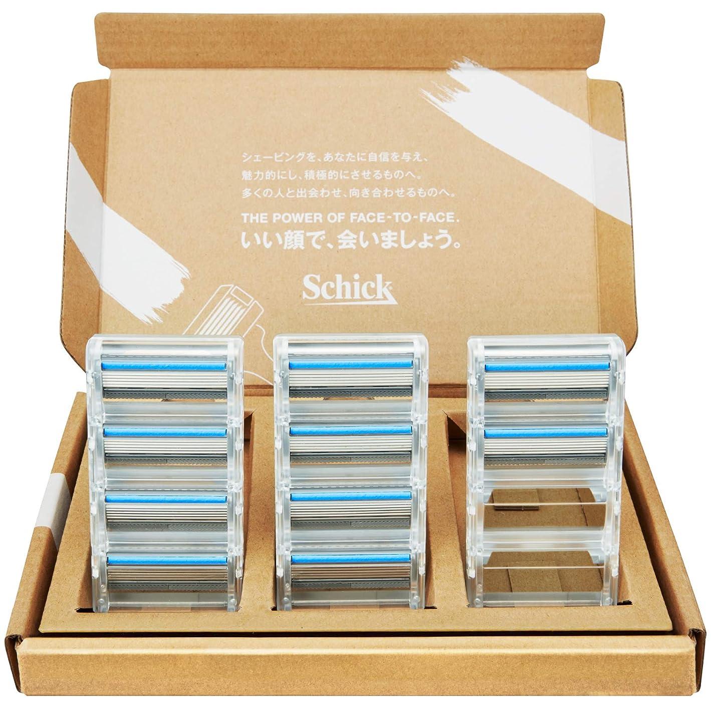 冷蔵庫ヒント補正【Amazon.co.jp限定】 シック クアトロ5 チタニウム 替刃 10コ入