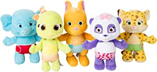 """Snap Toys Word Party 7"""" Plush Baby Animals, 5 Pack - Lulu, Bailey, Franny, Kip and Tilly - from The Netflix Original Serie..."""