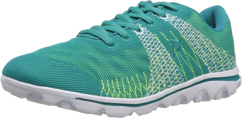 Propet Women's Travelactiv 人気ブランド多数対象 Shoe Knit 新発売 Walking