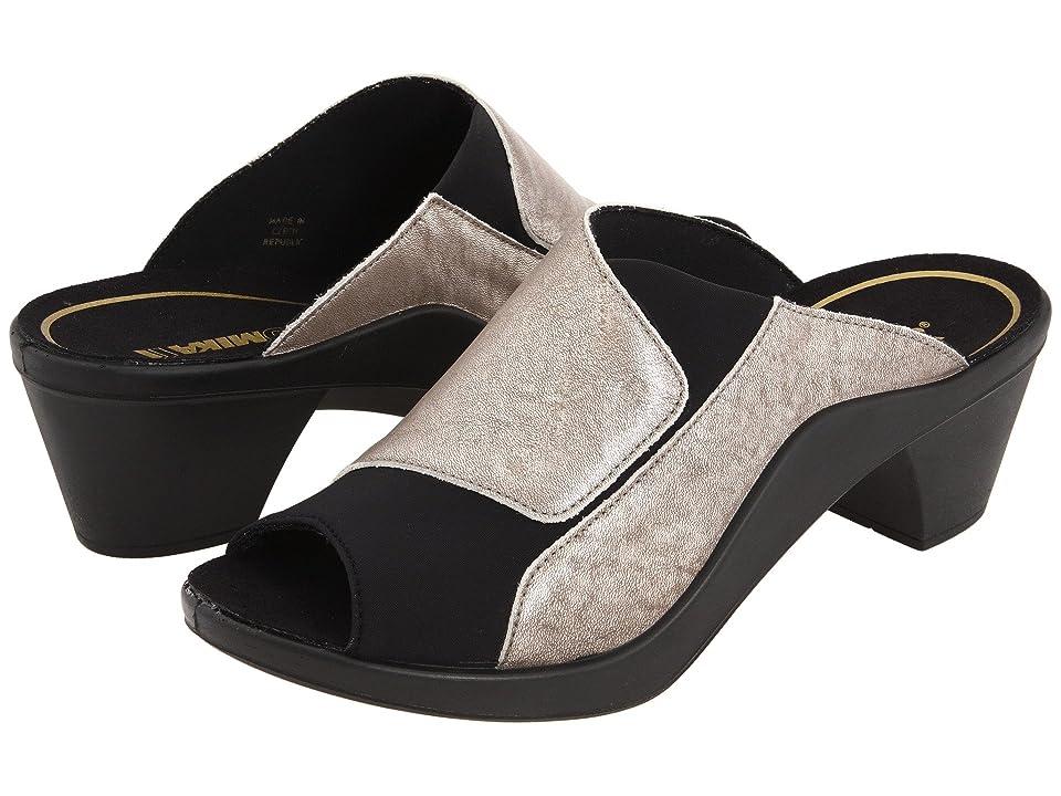 Romika Mokassetta 244 (Metallic Platinum) High Heels
