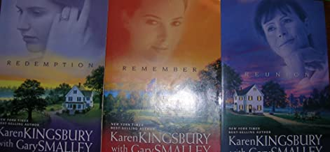 Authors Karen Kingsbury and Gary Smalley One, Two and Five Book Bundle Collection of The Redemption Series, Includes: REDEMPTION - REMEMBER - REUNION