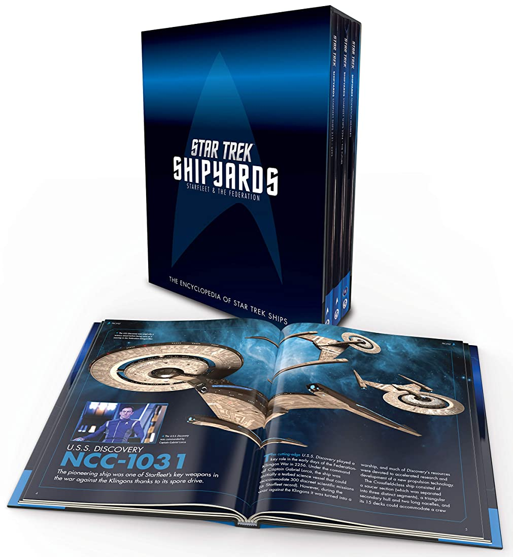視線フェローシップ懐疑論Star Trek Shipyards: Starfleet and the Federation Box Set
