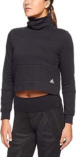 adidas Women's S2 Sweatshirt, Black/Black