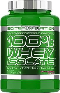 comprar comparacion Scitec Nutrition 100% Whey Isolate Suplemento Nutricional de Proteinas con Sabor de Fresa - 2 kg
