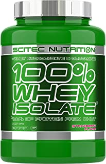 Scitec Nutrition 100% Whey Isolate Suplemento Nutricional de