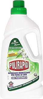 pulirapid – Limpiador desinfectante, para toda la casa con Amoniaco, aroma de almizcle blanco