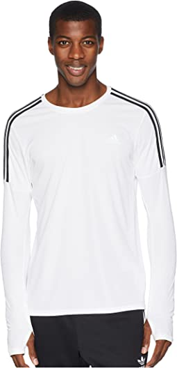 3-Stripes Run Long Sleeve Tee