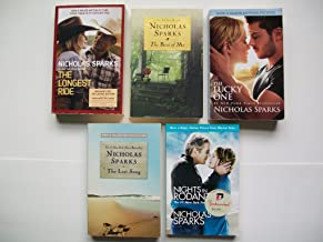 Nicholas Sparks (5 Set) Longest Ride; Best of Me; Lucky One; Last Song; Nights in Rodanthe