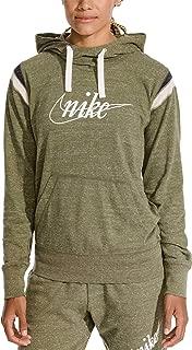 Nike Womens Gym Vintage Pull Over HBR Hoodie Sweatshirt