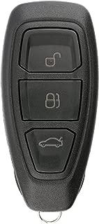 KeylessOption Keyless Entry Remote Control Car Key Fob Clicker for Focus, C-Max, Fiesta KR55WK48801