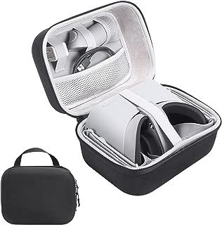 Oculus Goケース、XBERSTARハードEVAトラベルキャリングバッグ収納ケース携帯用スーツケース保護ボックスアクセサリー用Oculus Go VRヘッドセット