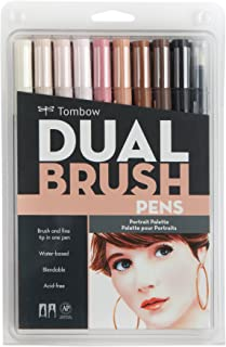 Tombow Pen Dual Brush Marker, 10-Pack, Portrait