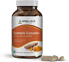 Turmeric Curcumin Supplement with Black Pepper and Ginger for High Potency and Best Absorption I Anti-Ageing, Anti Inflammatory Formula for Joint Pain Relief I Super Strength 95% curcuminoids.