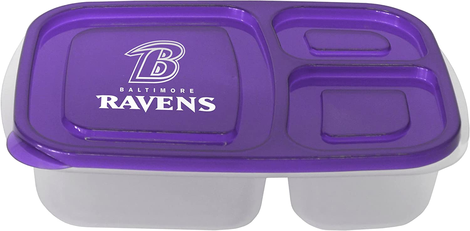 Boelter Brands NFL Baltimore Ravens Manufacturer direct delivery Container free shipping Lunch Lid with