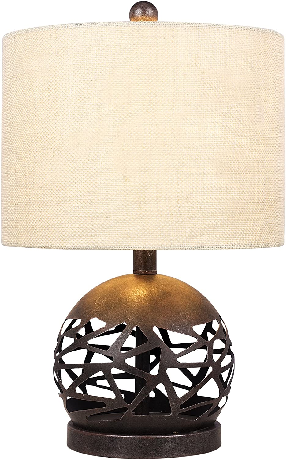 Cory Martin W-1544 Lamp, 19.5 , Brown