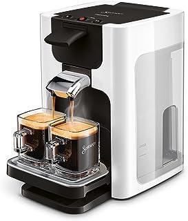 Senseo Quadrante HD7865/00 Machine à café capsules 1,2 L Cafetière 8 tasses Argenté Autonome C...